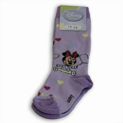 Disney bébi térdzokni Minnievel