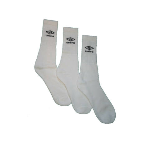 Unisex zokni - pamut sportzokni - fehér - Umbro