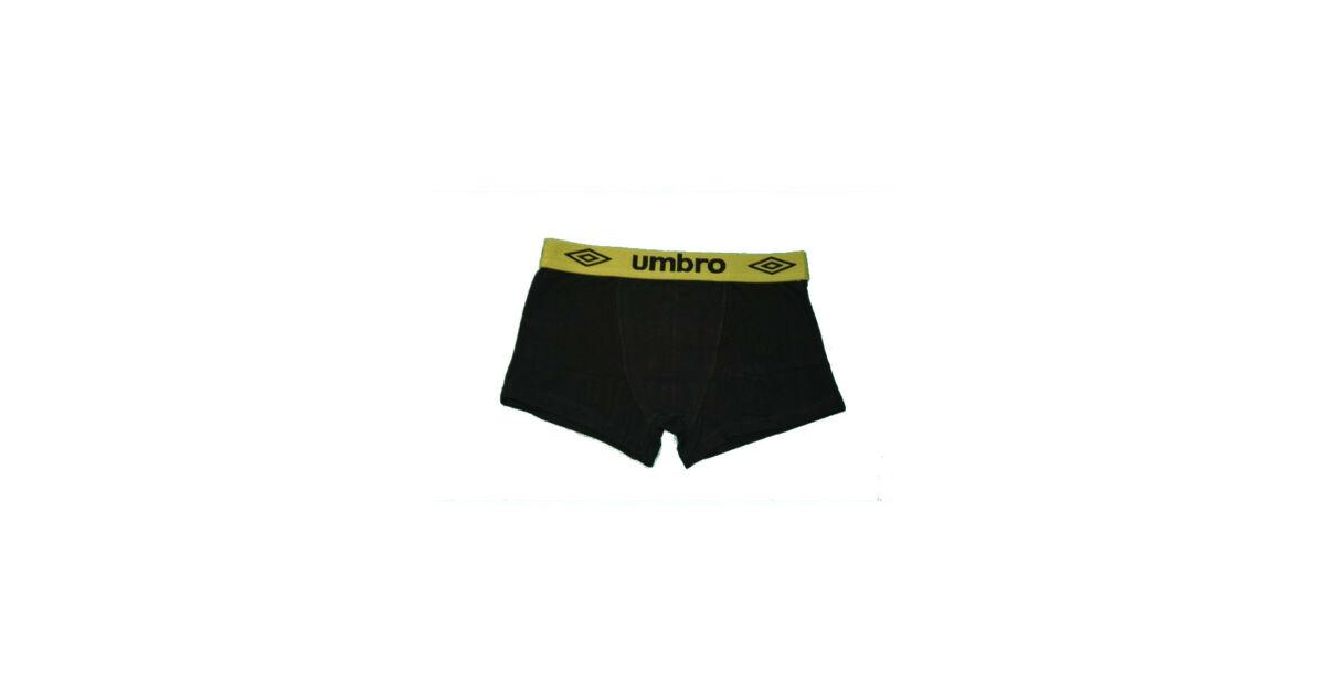 Férfi boxeralsó - pamut - L - fekete zöld derékgumival - Umbro Katt rá a  felnagyításhoz 33838ffd9b