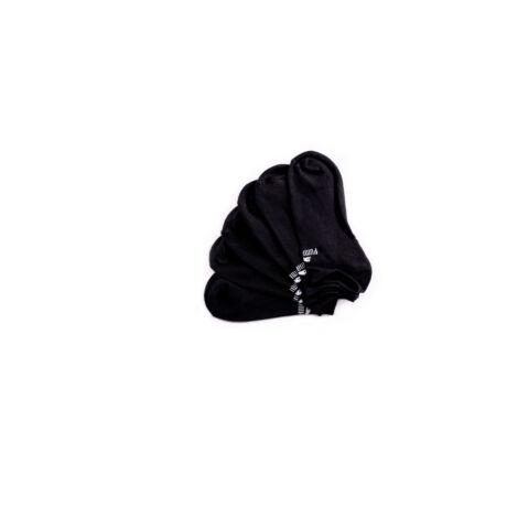 Puma unisex zokni - pamut titokzokni - fekete