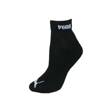 Puma unisex zokni - pamut rövid állású zokni - fekete