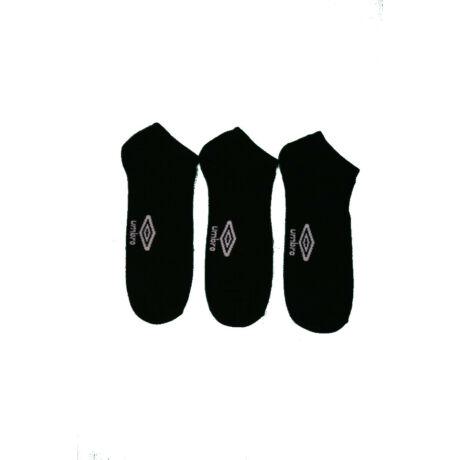 Unisex zokni - pamut titokzokni - fekete - Umbro