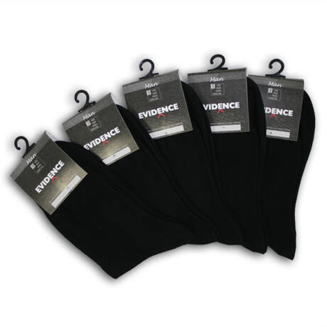 Evidence női és férfi pamut zokni 5 pár/csomag